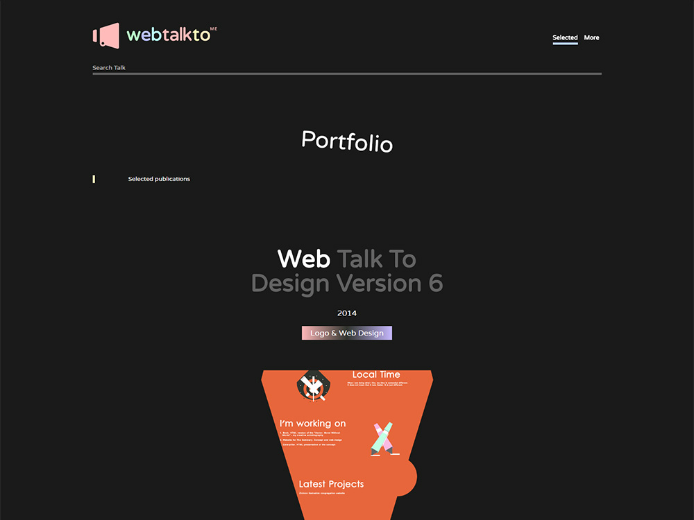 WebTalkTo v6.1 screenshot