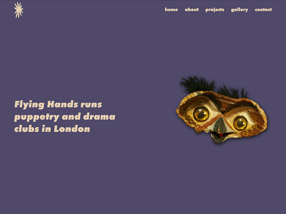 Flying Hands - puppetry clubs and workshops screenshot
