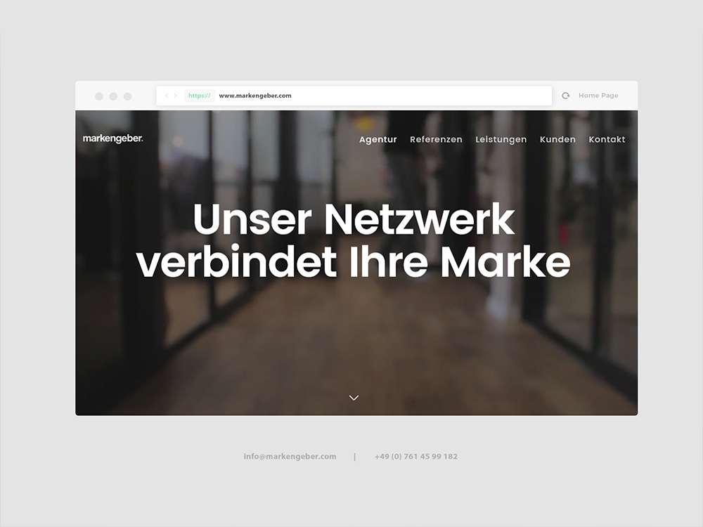 Markengeber® Werbeagentur screenshot