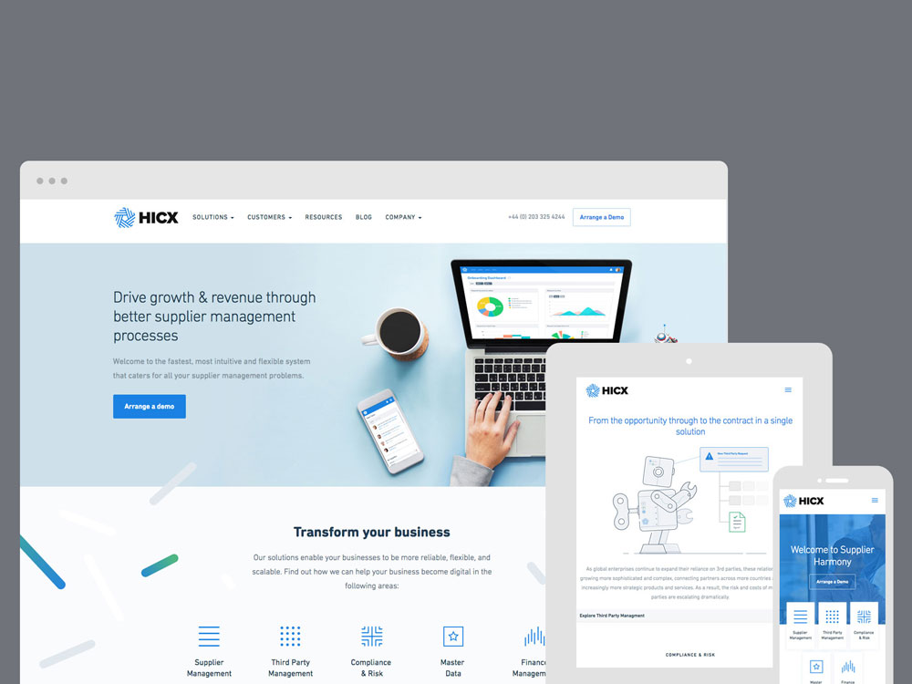 HICX Solutions screenshot