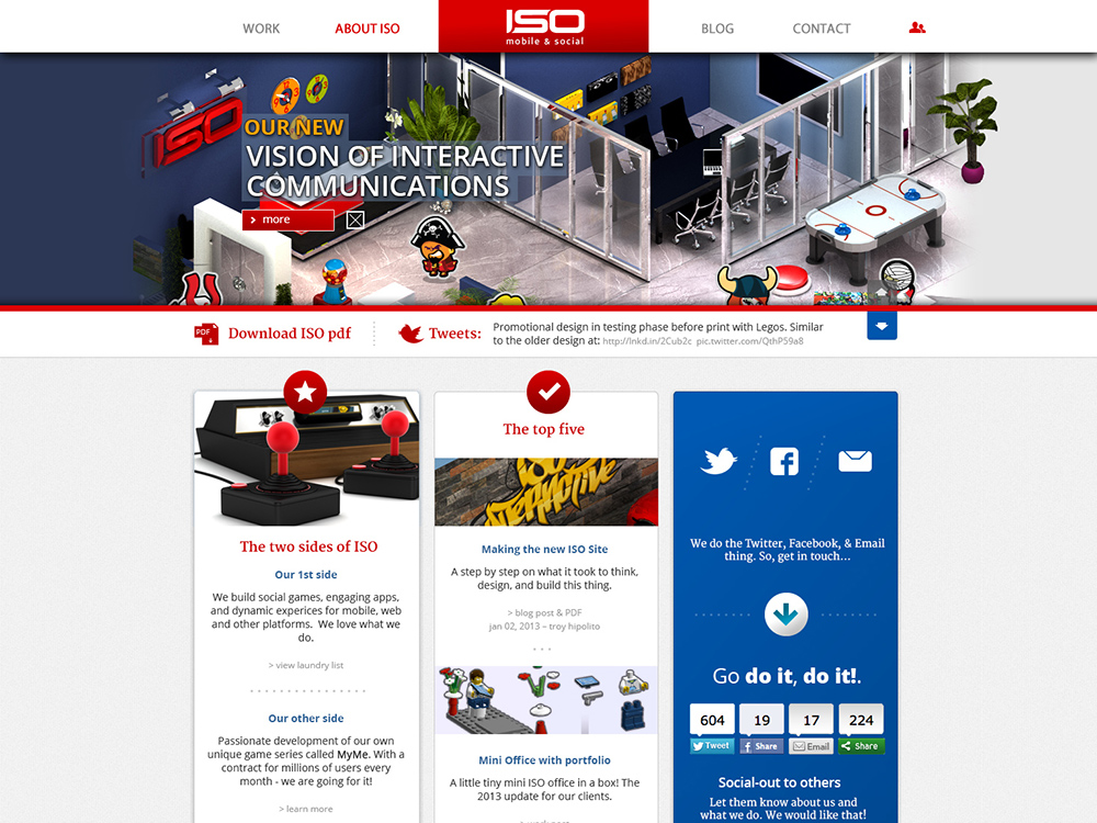 ISO Interactive - Award Winning Apps and Projects screenshot