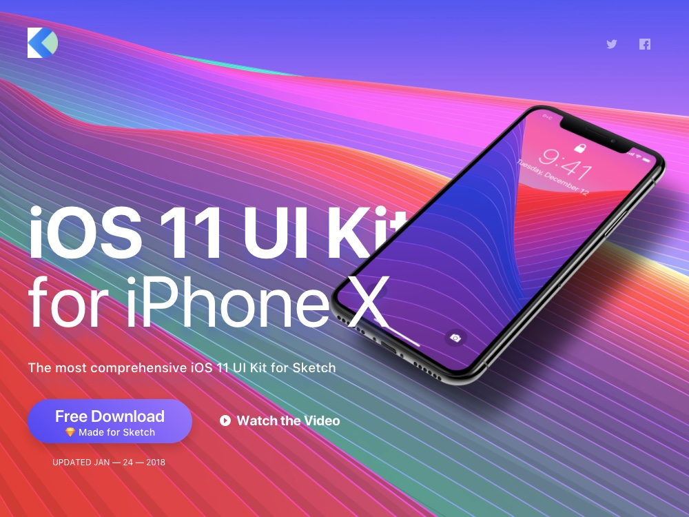 iOS 11 UI Kit by Design+Code screenshot