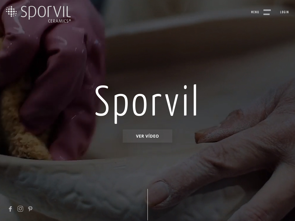 Sporvil Ceramics screenshot