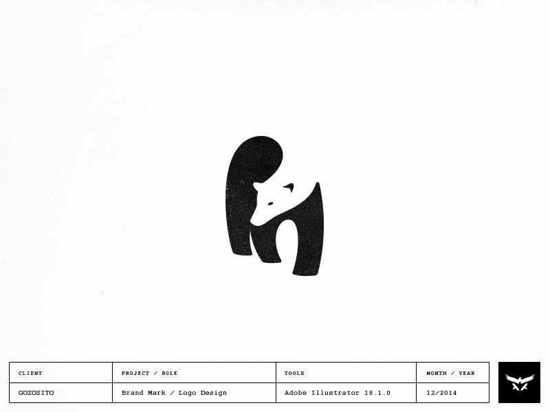Polar bear logo design